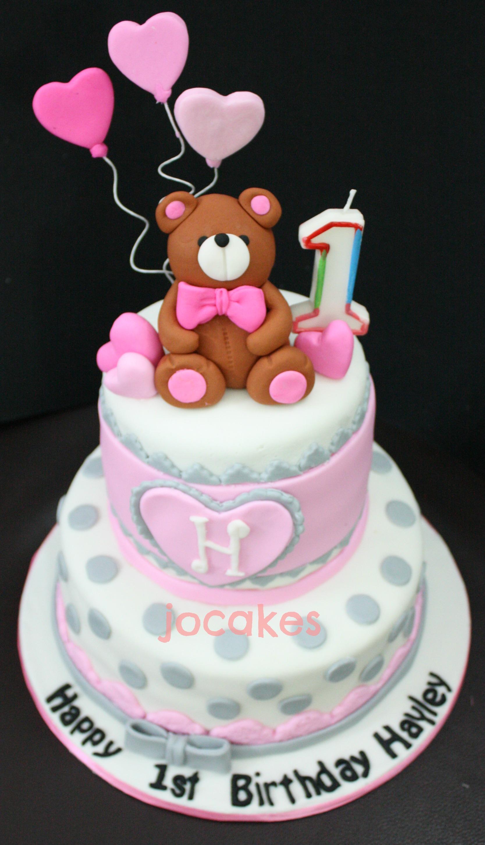 Teddy Bear Cake Jocakes