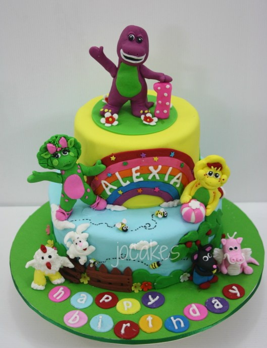 Barney And Friends Cakes Jocakes