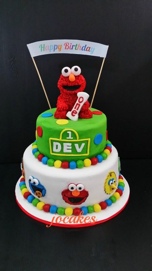 Elmo Cake Jocakes Page 2