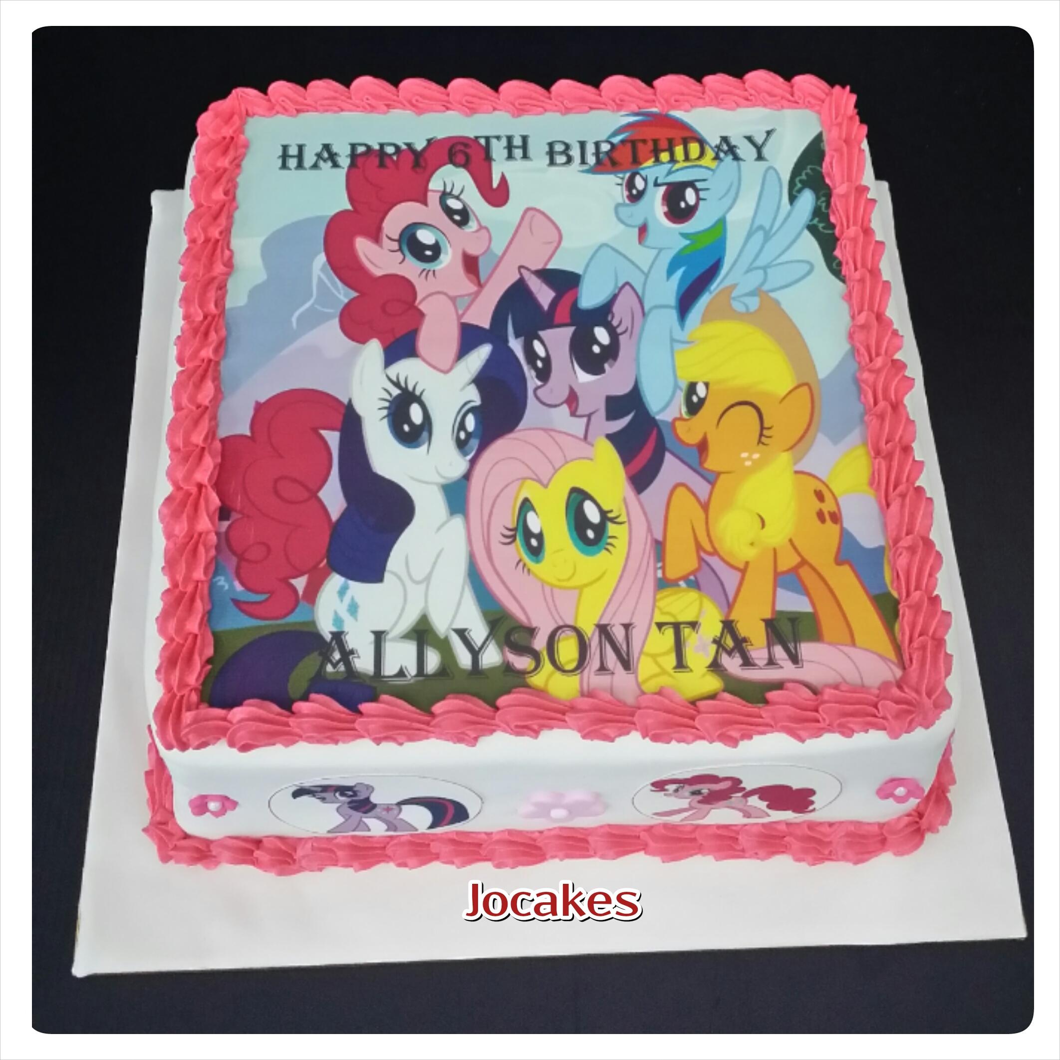 My Little Pony Cake Jocakes