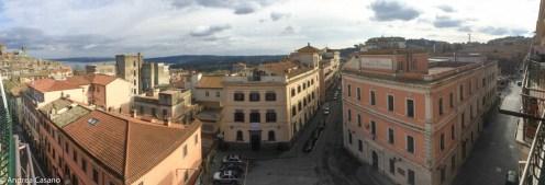 Bracciano - Piazza Dante e Via Garibaldi