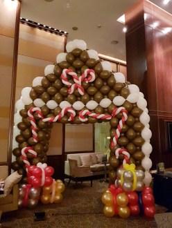 Balloon Ginger Bread House