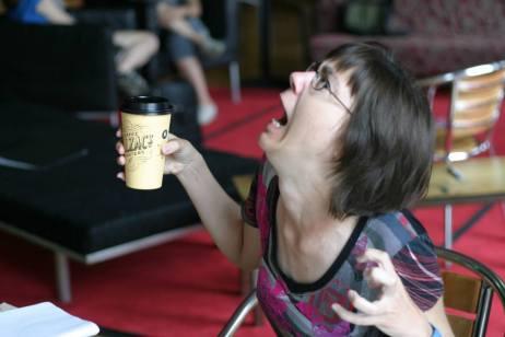 me composing caffeine balzacs