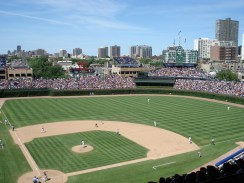The beautiful and historic Wrigley Field.