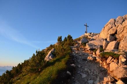 The peak of Corno Bianco