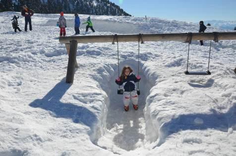 ... wenn es richtig viel schneit!