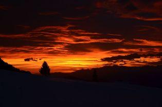 Sonnenuntergang im Dezmeber (keine Bildbearbeitung)