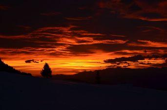 Sunset in december (no photoshop)