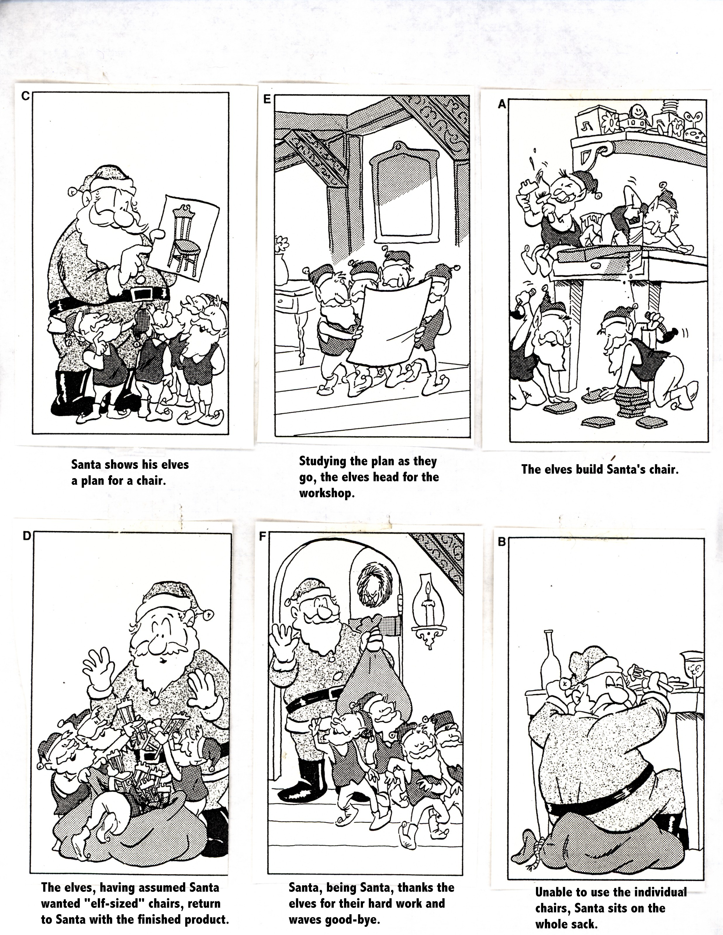 Christmas – Cartoon Sequence
