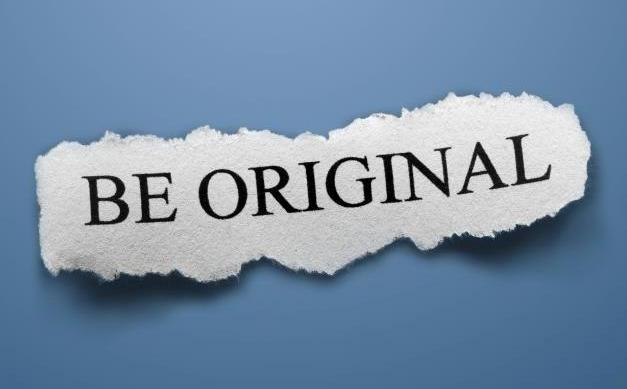 Telling people to be original does not make your reused content original