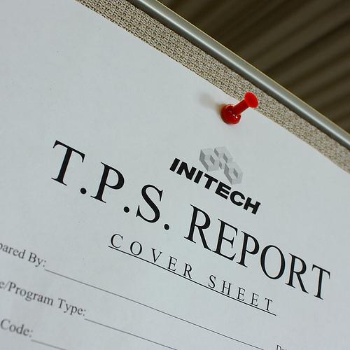 Initech TPS Report Cover Sheet