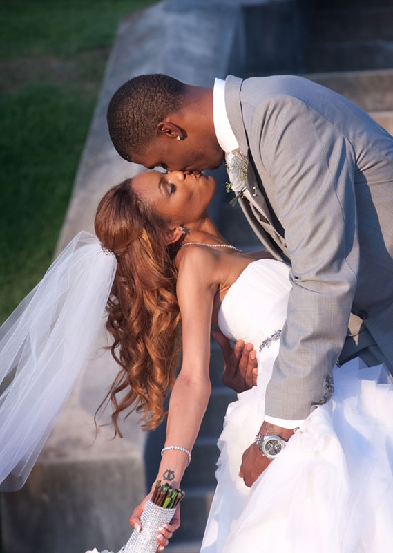 Bobcats Tyrus Thomas Weds Jamie Collins In Louisiana