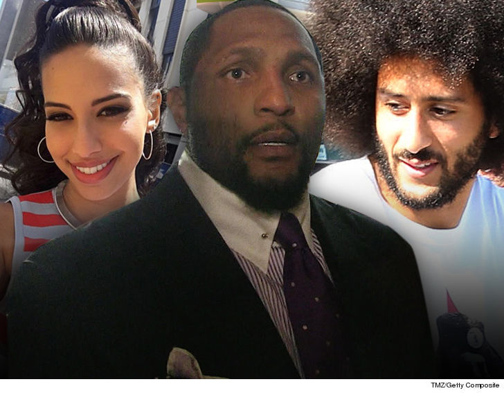 Ray Lewis Claims Colin Kaepernicks Girlfriend Nessas Tweet Is Why Ravens Didnt Sign The QB