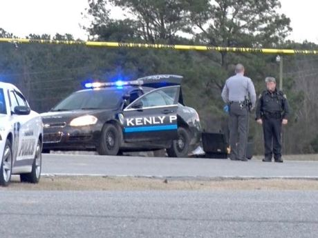 Chase Kenly Police Car