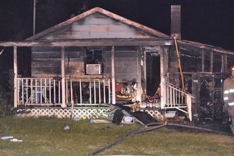 Fire - Parrish Road, Benson 09-21-17-5JT