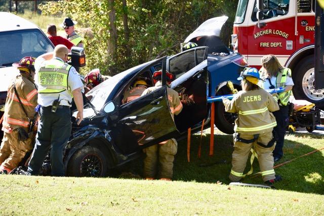 Accident - Castleberry Road, 10-03-17-1JP