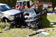 Accident - Castleberry Road, 10-03-17-2JP