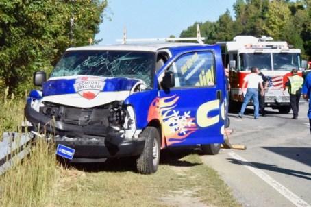 Accident - US70, Wilsons Mills Road, 10-03-17-1JP