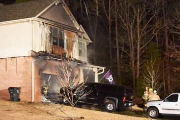 Fire - 143 Lake Blanchard Drive, Angier 01-12-18-3JT