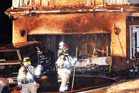 Fire - 143 Lake Blanchard Drive, Angier 01-12-18-7JT