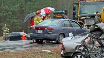 Accident - School Bus - Raleigh Road, 02-08-18-5JP