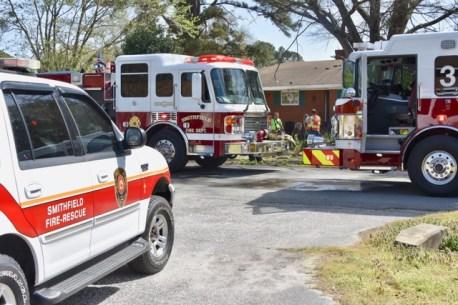 Fire - Sunset Avenue, Smithfield 04-06-18-7JP