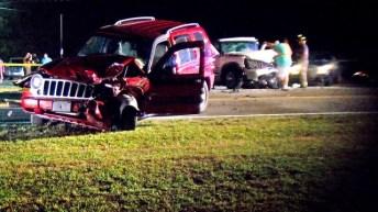 Accident - NC 50 South, Benson 05-14-18-2JP