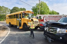 Bus Accident - Barber Mill Road, Amelia Church Road, 05-21-18-1JP
