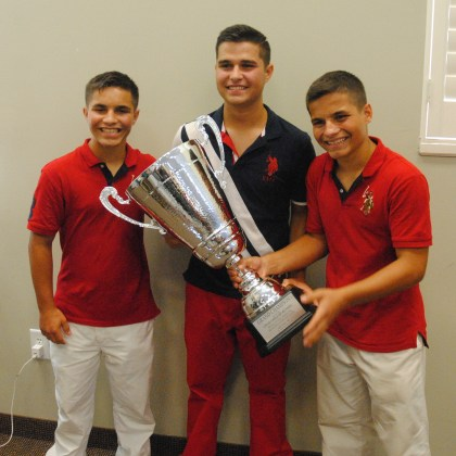 The 3 Heath Brothers were the Grand Champions of the 98th annual State Singing Convention in Benson.