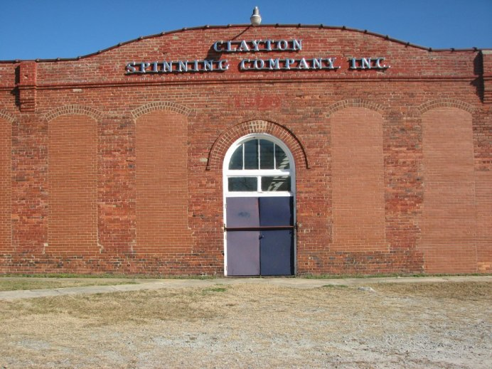 Current photo of the Clayton Spinning Mill