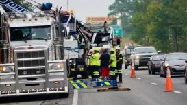 Accident - I-95 I95, Four Oaks, 10-07-18-3JP