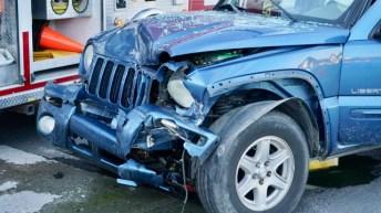Accident - Fire Department, Wilsons Mills Road, 01-18-19-2JP