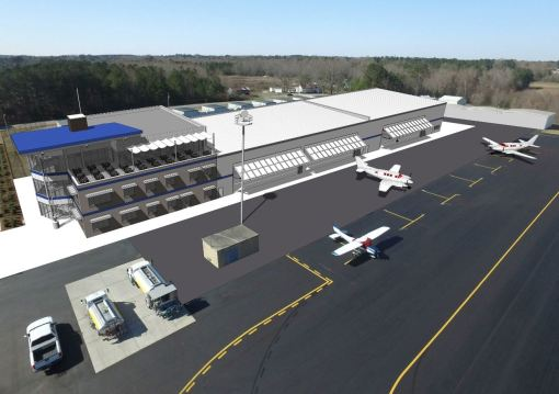Aviation Company To Build Headquarters At Johnston Regional Airport