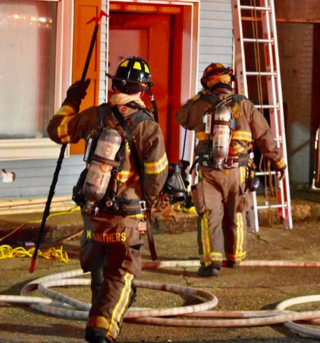 Fire - E Wellons Street, Murrays Pawn Shop 01-30-19-11JT