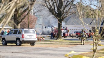 Fire - Five Points Road, 03-29-19-1JP