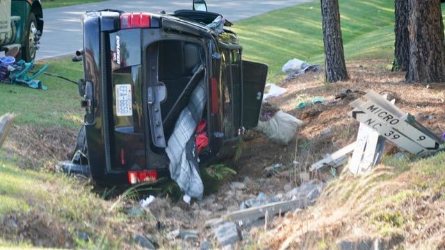 Accident - NC42 East, Creech Church Road, 04-24-19-1JP