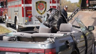 Accident - Sanders Road, 04-02-19-3JP