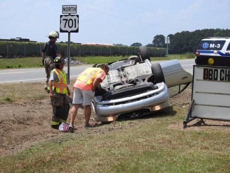 Accident - Bus US701, Stewart Road, 05-30-19-1ML