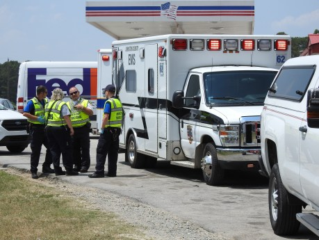 Accident - Bus US701, Stewart Road, 05-30-19-3ML