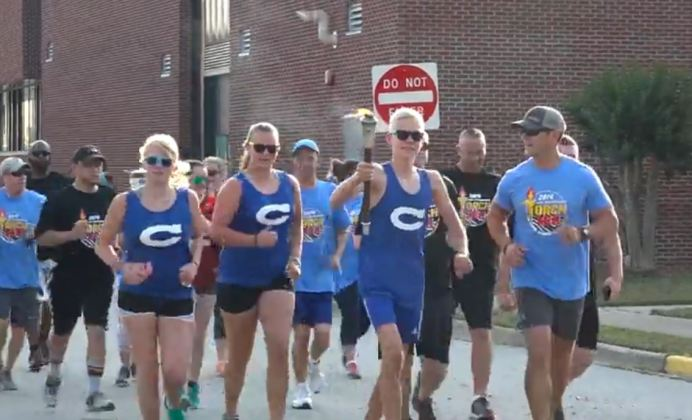 Clayton PD Torch Run 05-30-19CP