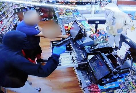 Clayton Handi-Mart Armed Robbery June 14, 2019