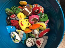 Rocks will be donated to Harnett Primary, Plain View Elementary, Dunn Parks and Recreation and Faith for Rachel.