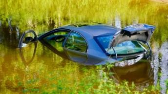Submerged car - Antioch Church Road 09-03-19-2JP
