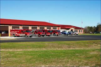 CSS Executive Director Neal Davis presented this photo to County Commissioners of a Fire/EMS Station design he would like to use for a new JCATS Facility in Selma. Davis said the proposed new 11,040 square foot building can be constructed for $3 million. The original cost estimate was $8 million. Contributed photo