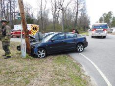 Accident - Main, Allen Street, Four Oaks 02-28-20-3ML