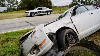 Accident - Covered Bridge Road, 03-16-20-2JP