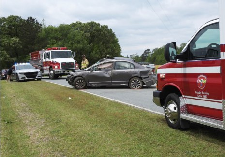 Accident - Hickory Grove Road 04-15-20-1ML