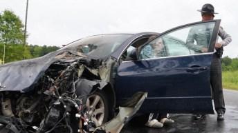 Accident - Little Creek Church Road, Pony Farm Road, 04-21-20-4JP