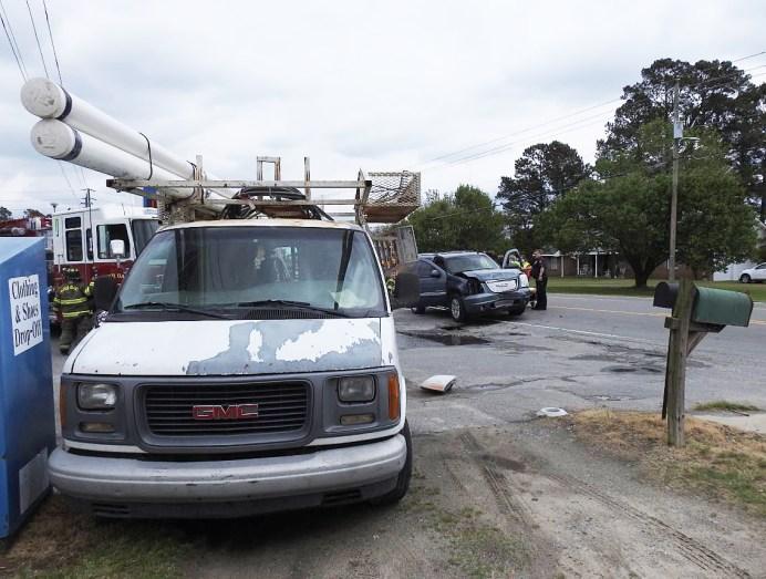 Accident - US 301, Four Oaks, 04-15-20-4ML