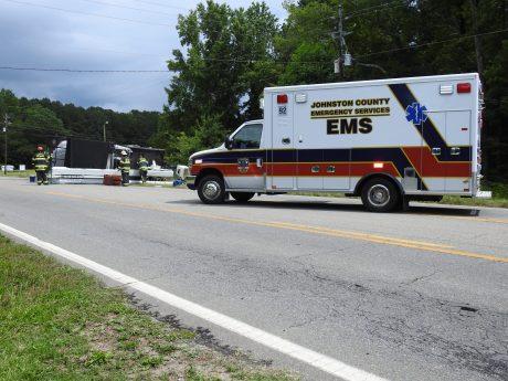 Accident - Utility Truck, US70 E, 06-19-20-1ML